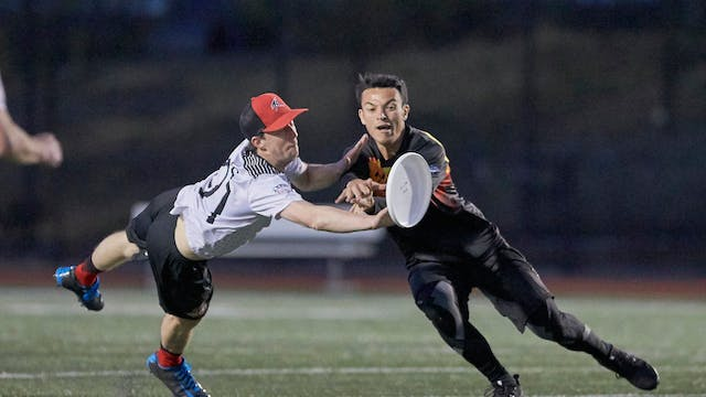 2018 AUDL: Toronto Rush at San Franci...