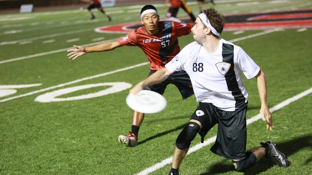 2018 AUDL: San Jose Spiders at Los Angeles Aviators — Week 6