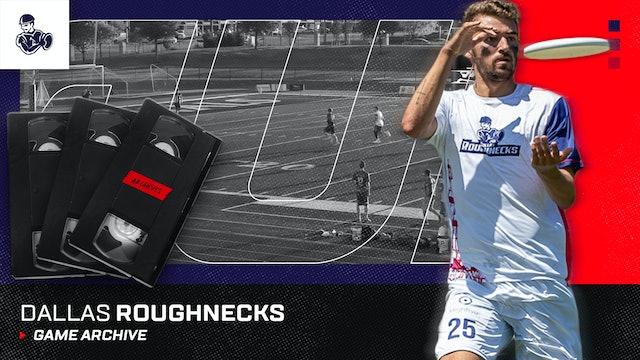 Dallas Roughnecks Game Archive