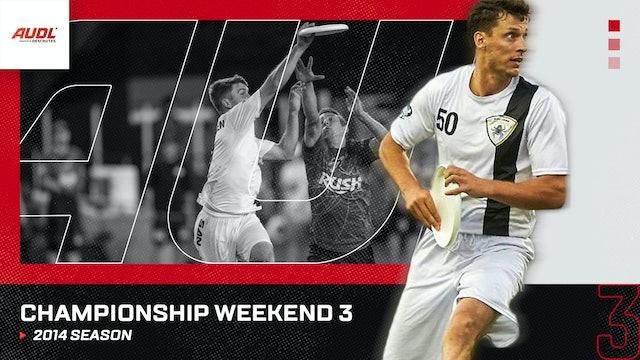 2014 Championship Weekend
