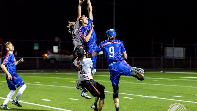 2018 AUDL: Los Angeles Aviators at Austin Sol — Week 3