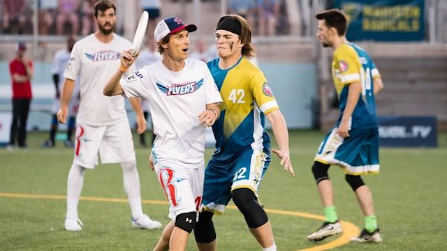 2018 AUDL: Raleigh Flyers at Madison Radicals — Week 9