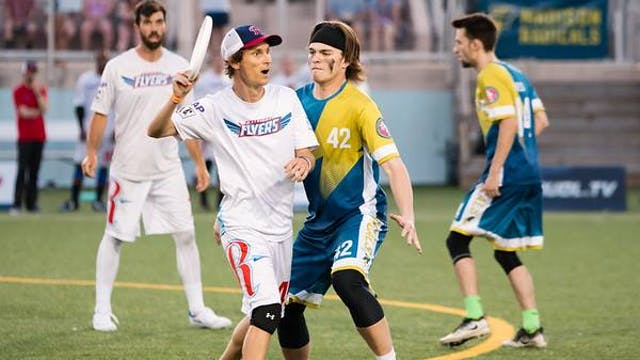 2018 AUDL: Raleigh Flyers at Madison ...