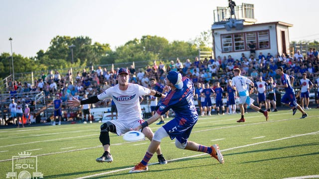 2018 AUDL: Raleigh Flyers at Austin S...