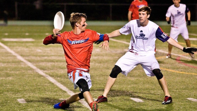 2018 AUDL: Dallas Roughnecks at Raleigh Flyers — Week 2
