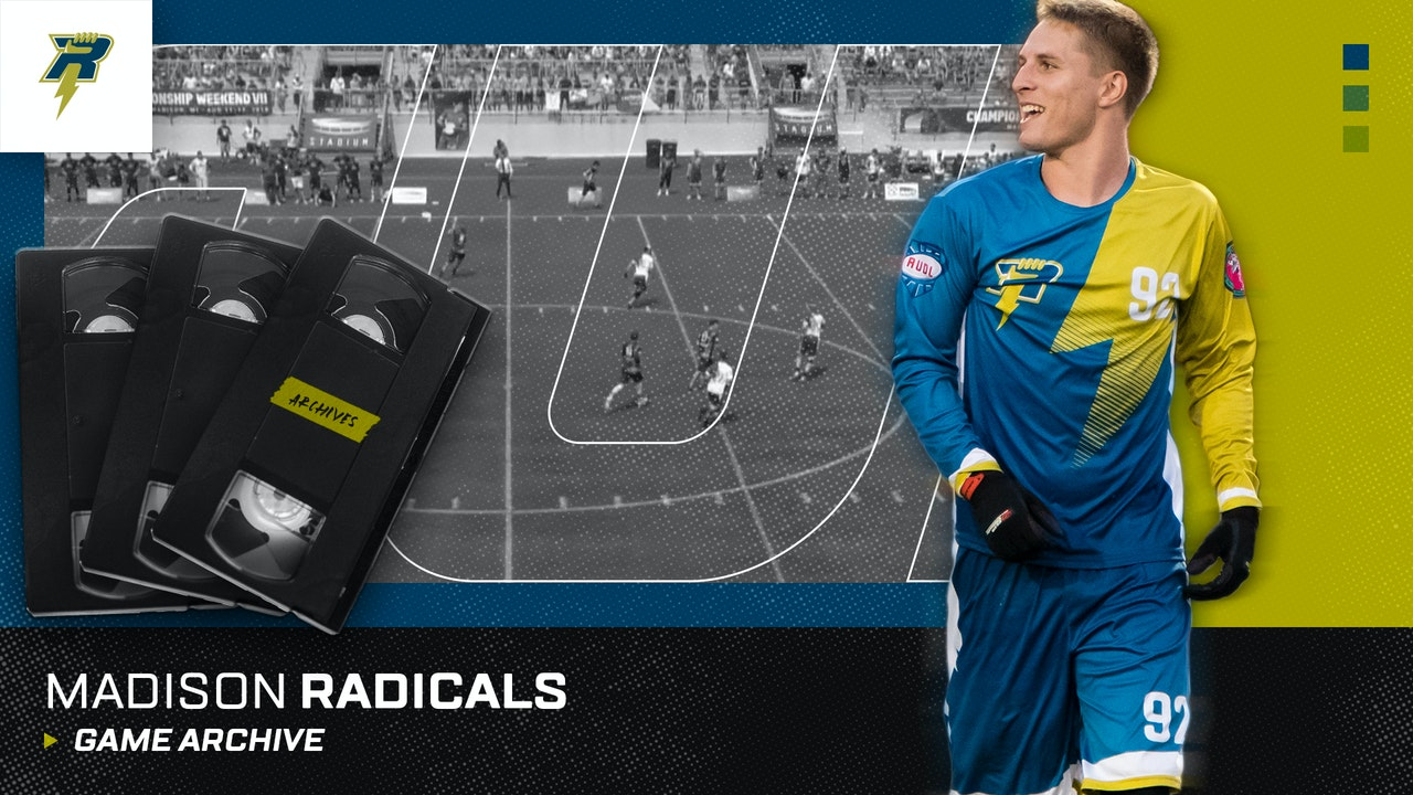 Madison Radicals Game Archive