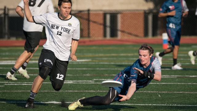 2018 AUDL: New York Empire at DC Breeze — Week 16