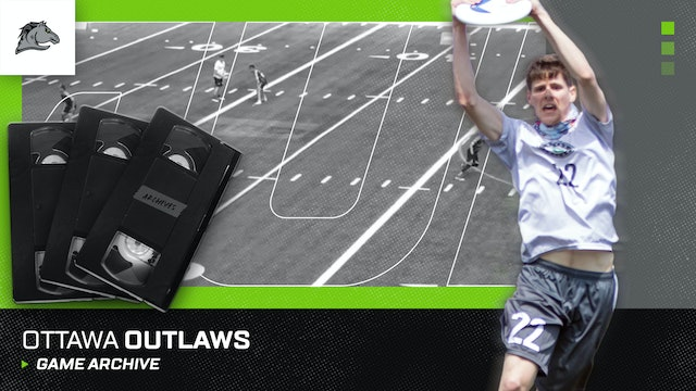 Ottawa Outlaws Game Archive