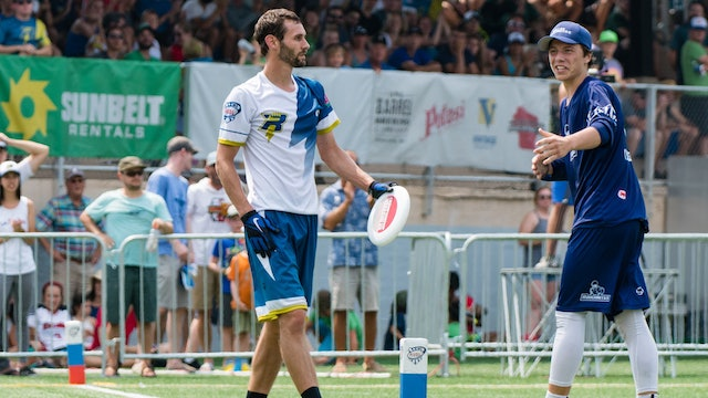 2018 AUDL Championship Game: Dallas Roughnecks vs Madison Radicals