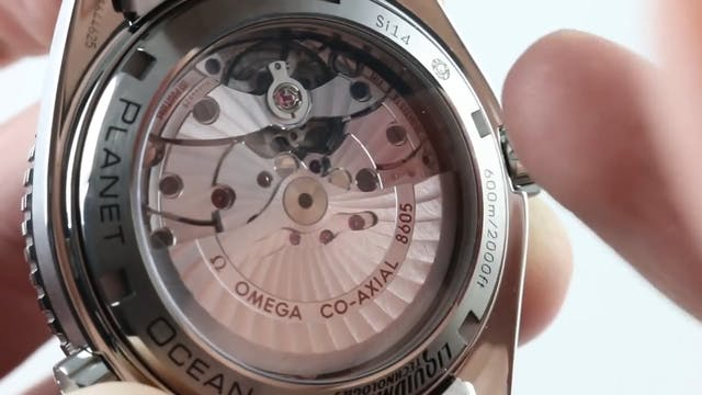 Omega Seamaster Planet Ocean GMT 600M...