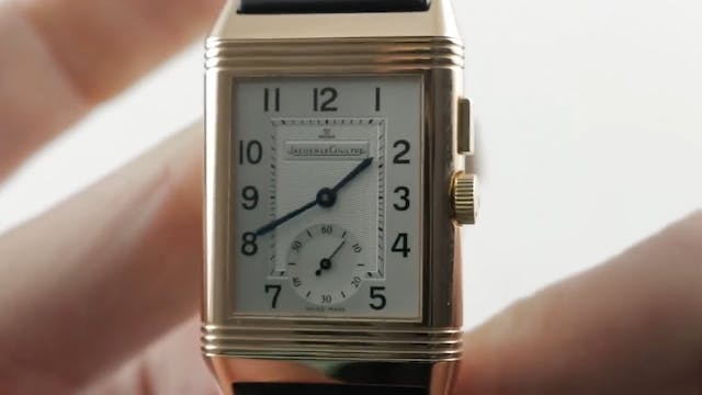 Jaeger Lecoultre Reverso Duoface GMT ...