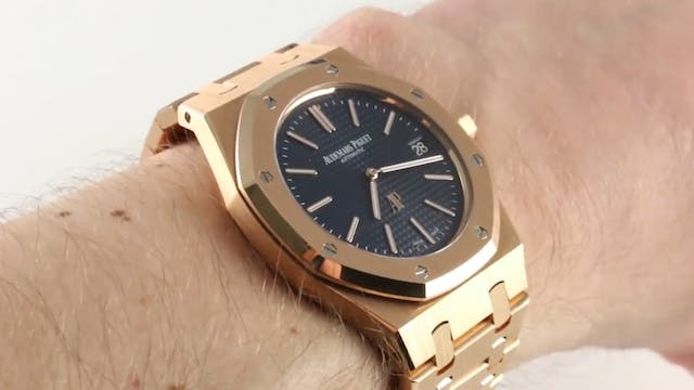 Audemars Piguet Royal Oak Extra Thin ...