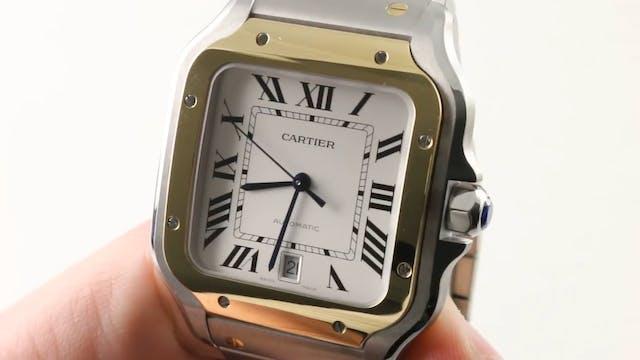2018 Cartier Santos Bracelet Function...