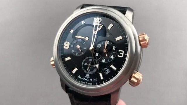 Blancpain Leman Reveil GMT 2041 12A30 64B Blancpain Watch Review