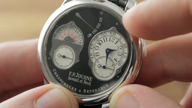 F.P. Journe Chronometre A Resonance B...