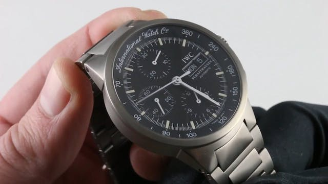 IWC Gst Chronograph IW3707-03 Review