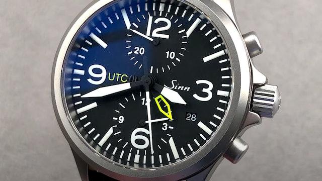 Sinn 756 UTC Duochronograph 756.011