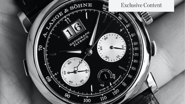 10 Lange Watches in 10 Minutes: Thing...