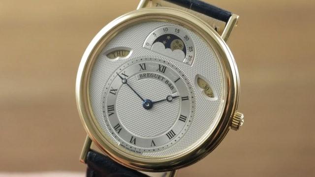 Breguet Classique Day Date Moon Phase 3337Ba 1E 986 Breguet Watch Review