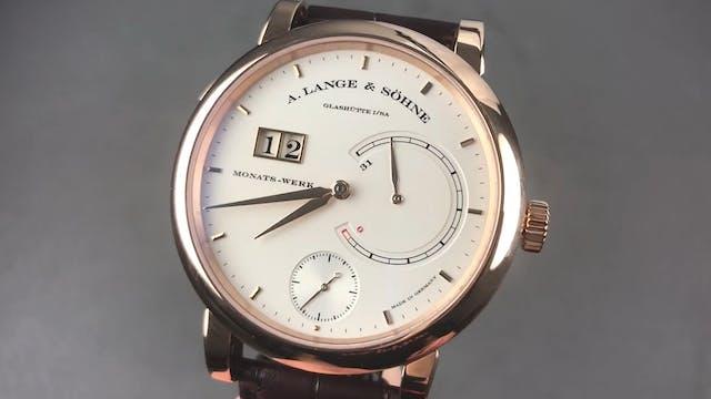 """A. Lange & Sohne """"Lange 31"""" 31-Day Po..."""