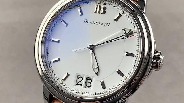 Blancpain Leman Big Date Ultra Slim 2...
