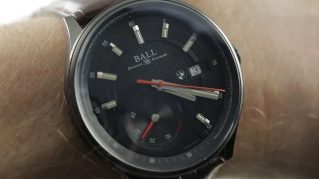 Ball Watch For Bmw Power Reserve Chronometer Pm3010C L1Cj Bk Ball Watch Review