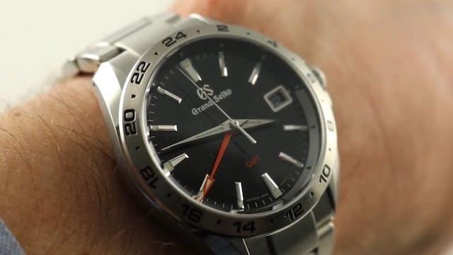 Grand Seiko GMT 9F 25th Anniversary (...
