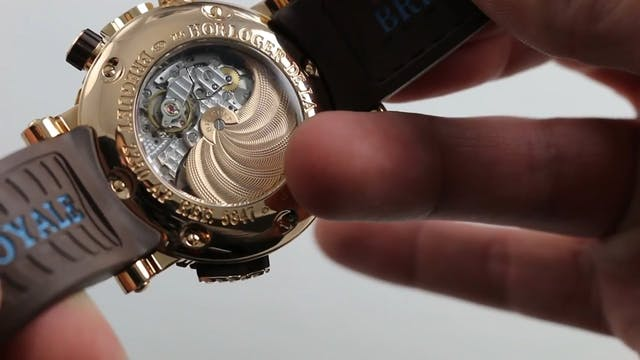 How To Set The Alarm On A Breguet Mar...