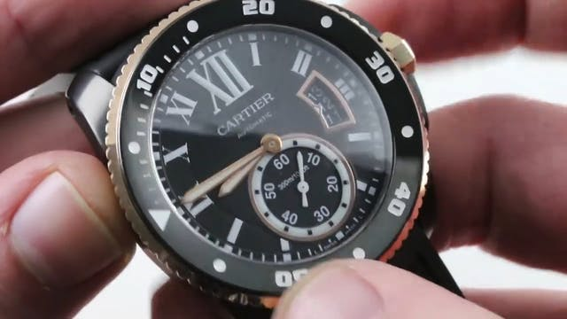 Cartier Calibre De Cartier Diver Blac...
