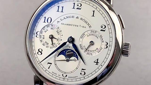 A. Lange & Sohne 1815 Annual Calendar...