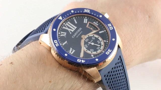 Cartier Calibre De Cartier Diver WGca0010 Review