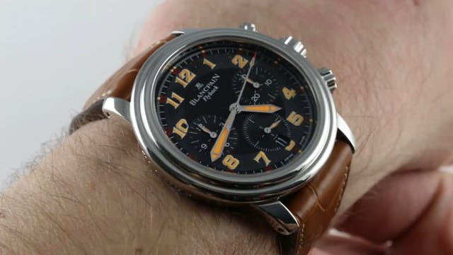 Blancpain Leman Flyback A Toute Vites...
