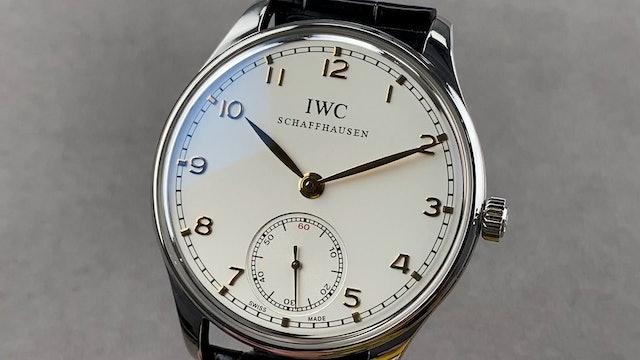 IWC Portuguese Hand-Wound IW5454-08