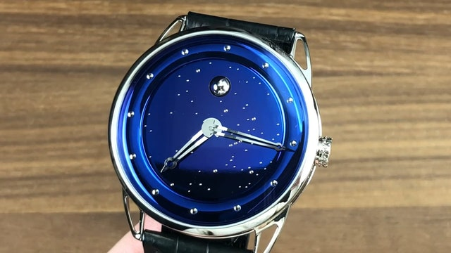 De Bethune Db25 Starry Sky Moon Phase Db25Lws3V2 De Bethune Watch Review