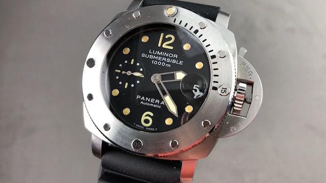 Panerai Luminor 1950 Submersible PAM 243 Tritium Dial Panerai Watch Review