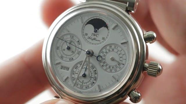 IWC Davinci Perpetual Calendar Chrono...