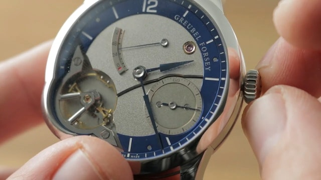 Greubel Forsey Balancier Stainless Steel Usa Edition Greubel Forsey Watch Review