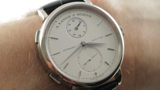 A. Lange & Sohne Saxonia Dual Time (3...