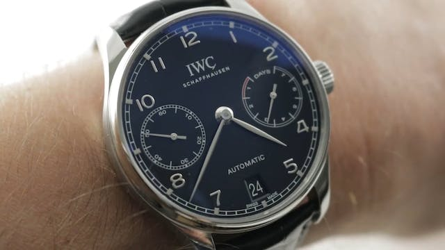 IWC Portugieser Automatic 7 Days (IW5...
