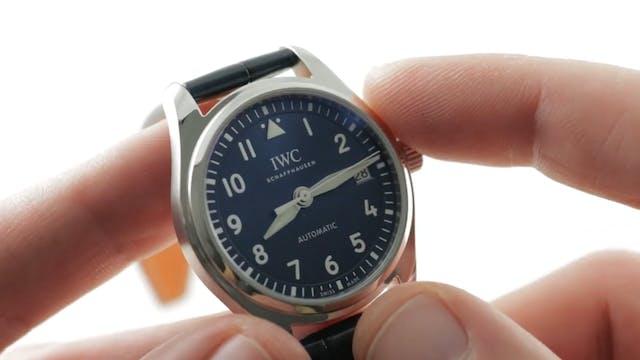 IWC Pilots Watch 36mm IW3240-08 Review