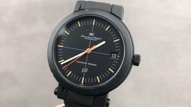 IWC Porsche Compass Watch IW3510