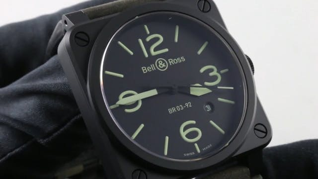 Bell & Ross Instrument (Epic Lume) BR...