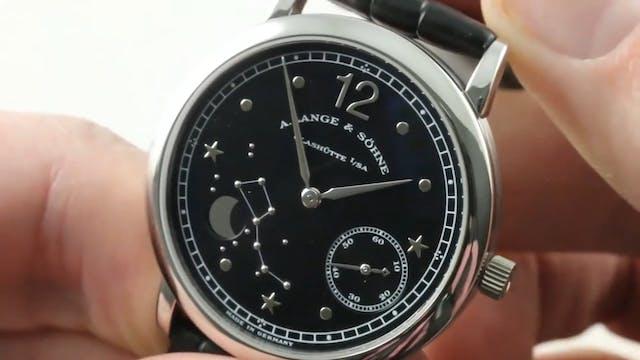 A Lange & Sohne 1815 Moonphase Hommag...