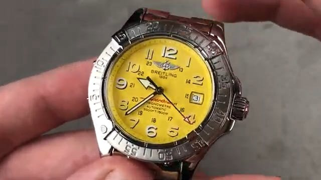 Breitling Superocean Dive Watch A1736...