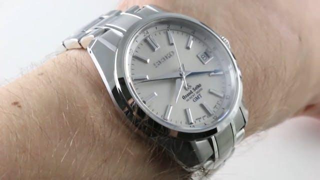 Grand Seiko Hi Beat 36000 GMT (SBGJ00...