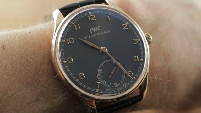 IWC Portuguese Hand Wound 5454-06 IWC...