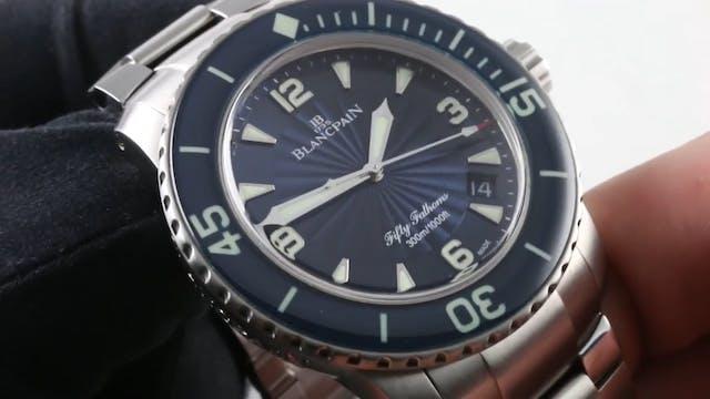 Blancpain Fifty Fathoms (X71 Bracelet...