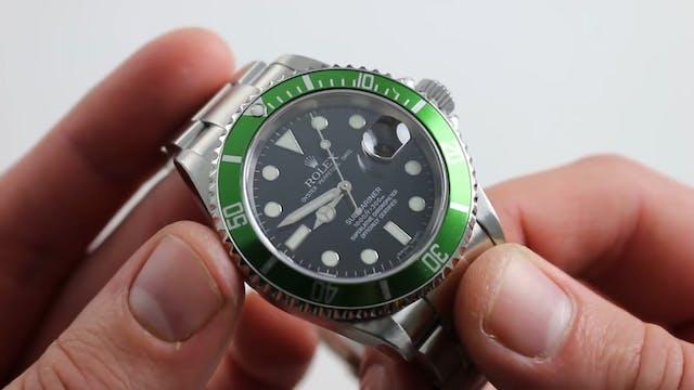 """Rolex """"Kermit"""" Submariner Date 50th A..."""