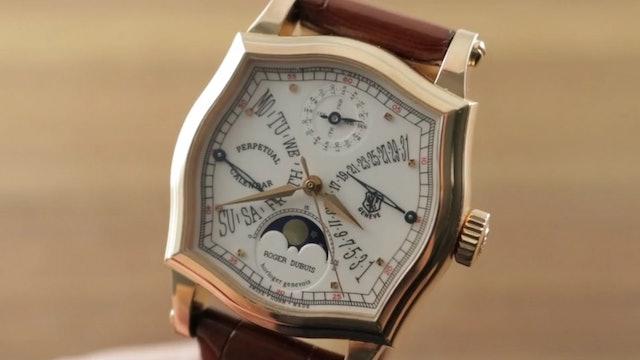 Roger Dubuis Sympathie Perpetual Calendar Biretrograde S3757725 Review