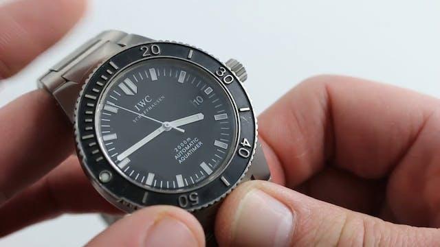IWC Aquatimer 2000 IW3536-02 Watch Re...